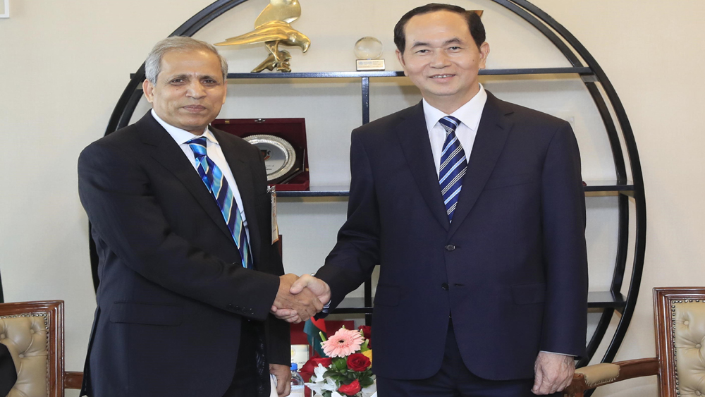 Chủ tịch nước Trần Đại Quang: Doanh nghiệp Việt Nam và Bangladesh cần khởi xướng các ý tưởng sáng tạo